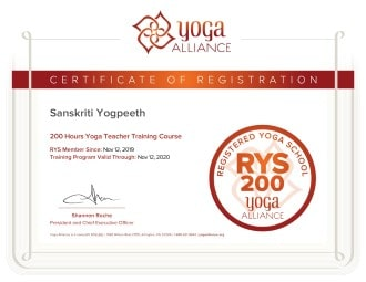 sanskriti-yogpeeth-yoga-alliance-usa-certification
